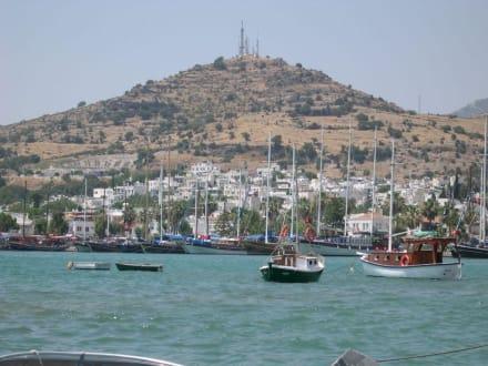 Küste von Bodrum - Yachthafen Bodrum