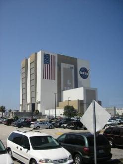"""Kennedy Space Center, """"Garage""""  des Space Shuttles - Kennedy Space Center"""