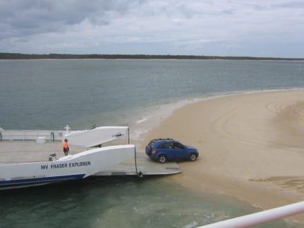 Fraser Island Fähre - Fraser Island