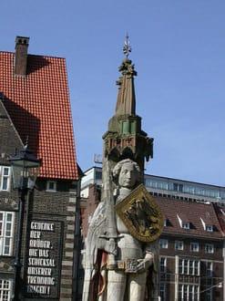 Bremen, der Roland - Bremer Roland