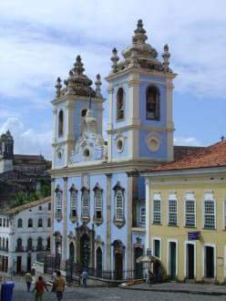 """""""Kirche der Sklaven""""   in Salvador da Bahia - Kirche Nossa Senhora do Rosário dos Pretos"""