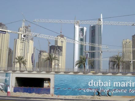 Baustelle Dubai - Dubai Marina