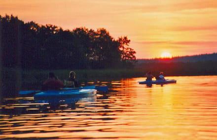 Abendausflug am Wigry See - Wigry See