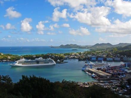 Castries - St.Lucia - Kreuzfahrthafen Castries