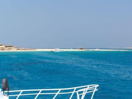 Bootstour drei Inseln - Giftun / Mahmya Inseln