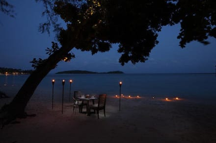 Romantic Dinner on the beach -