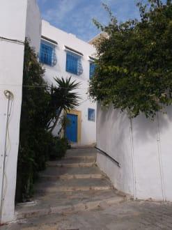 Gasse - Sidi Bou Said  - Ausflug nach Karthago und Sidi Bou Said