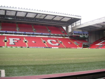 Anfield Stadion Liverpool - Beatles Story