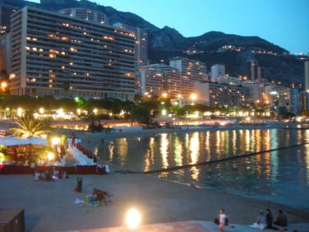 bild strand k ste hafen bilder monaco monte carlo monaco monaco. Black Bedroom Furniture Sets. Home Design Ideas