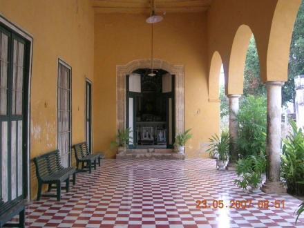 Eingang ins Haupthaus - Sisal Hacienda Yaxcopoil