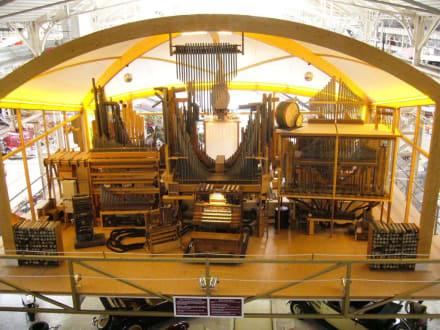 Eine funktionierende Spielorgel - Technik Museum Speyer