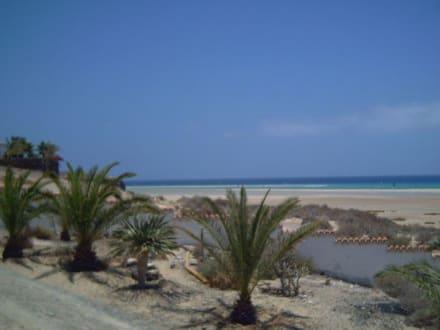 Bevor der Stand zum Meer wird - Strand Jandia