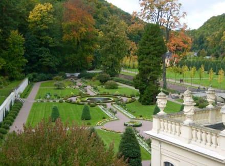 Schlossgarten - Schloss Weesenstein