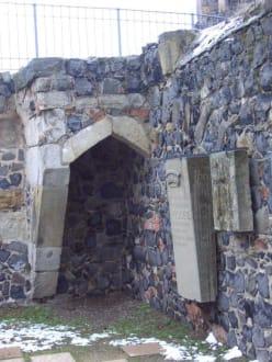 Reste der Kapelle - Burgruine Stolpen