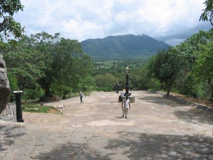 Weg zum Tempel - Höhlentempel Dambulla