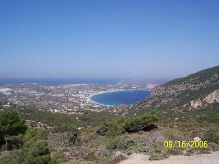 Blick über Kos - Paradise Beach