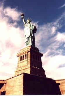 New York - Die Torte - Liberty Island