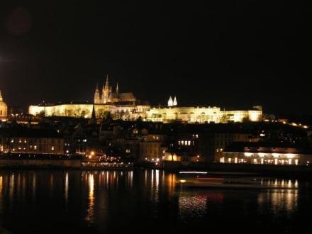 Hradschin bei Nacht - Prager Burg / Hradschin