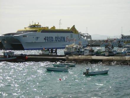 Der alte Hafen - Hafen Playa Blanca de Yaiza