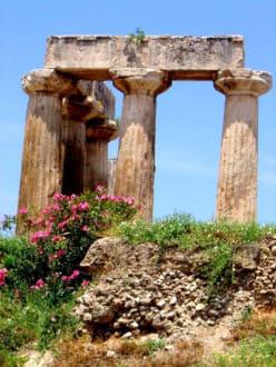 Korinth - Apollon Tempel - Das antike Korinth