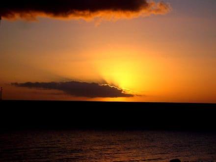 Sonnenuntergang - Strand Tazacorte