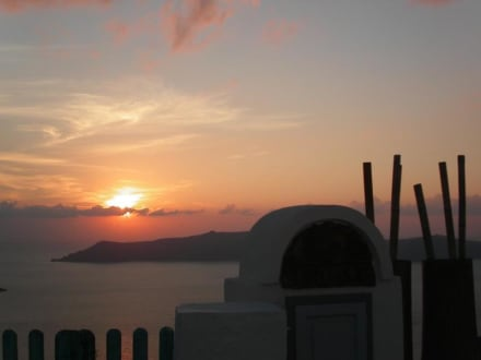Untergang 3 - Sonnenuntergänge in Firostefani