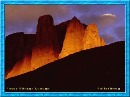 Sellatürme/Dolomiten - Sellapass