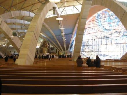 "Innenansicht der ""neuen"" Kirche - Convento di Santa Maria delle Grazie"