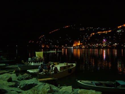 Hafen von Alanya am Abend - Hafen Alanya