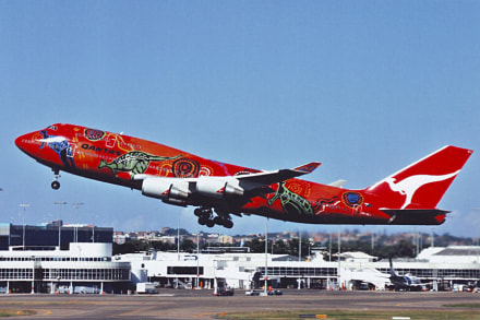 Wunala Dreaming - Flughafen Sydney/ Kingsford Smith Airport (SYD)