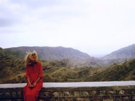 Marion in Hindukusch am Khyberpass - Chaiber-Pass