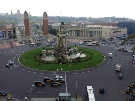 Blick vom Dach - Einkaufszentrum Las Arenas