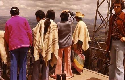 Einheimische Besucher auf dem Monserrate - Berg Monserrate