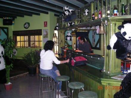 Die Theke im Panda - Panda Bar (geschlossen)