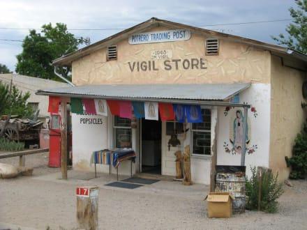 Souvenirladen in Chimayó - Santuario de Chimayó