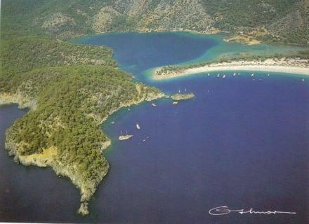 Ölü Deniz Bucht - Naturschutzgebiet Blaue Lagune