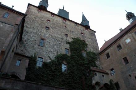 Hoffassade - Burg Kriebstein