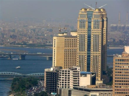 Blick auf den Nil - Cairo Tower