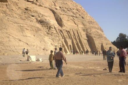 Tempel der Nefertari - Tempel von Abu Simbel