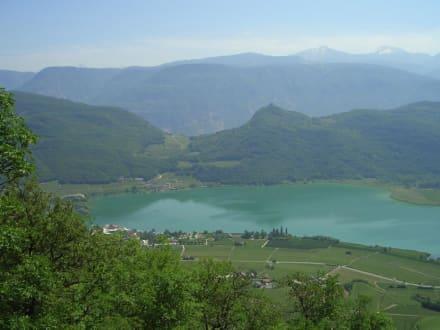 See von oben - Kalterer See