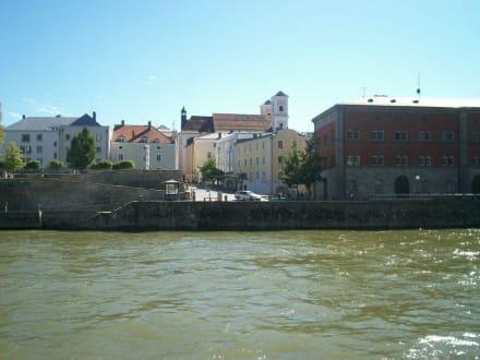 Auf der Donau - Altstadt Passau