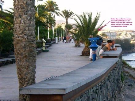 Hauptstrand rechts - Strandpromenade Playa del Inglés