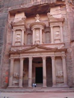 Das Schatzhaus - Schatzhaus des Pharao / Khazne al-Firaun