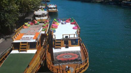 Schiffahrten am Flussufer von Manavgat... - Flussfahrt Manavgat
