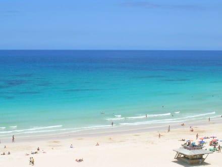 Ohne worte bild hotel riu oliva beach village resort for Riu oliva beach village