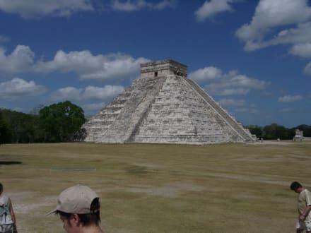 Pyramide von Kukulcán in Chichén Itzá - Ruine Chichén Itzá