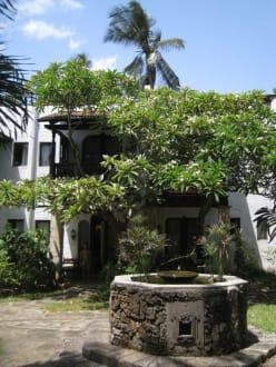 Garten vor Zimmer 90 - Hotel Serena Beach