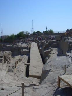 Obelisk der Kleopatra - Steinbruch - Unvollendeter Obelisk