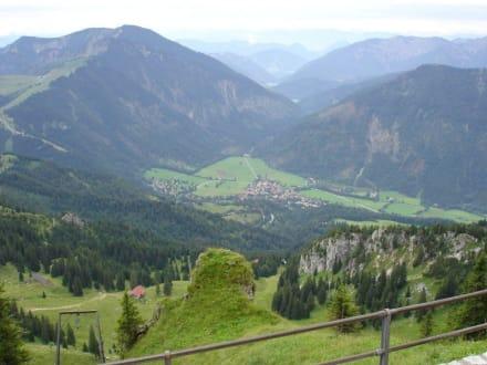 Blick vom Wendelstein Bayern - Wendelstein