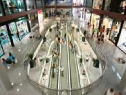 Innenansicht La Rotunda - Einkaufscenter Las Rotondas